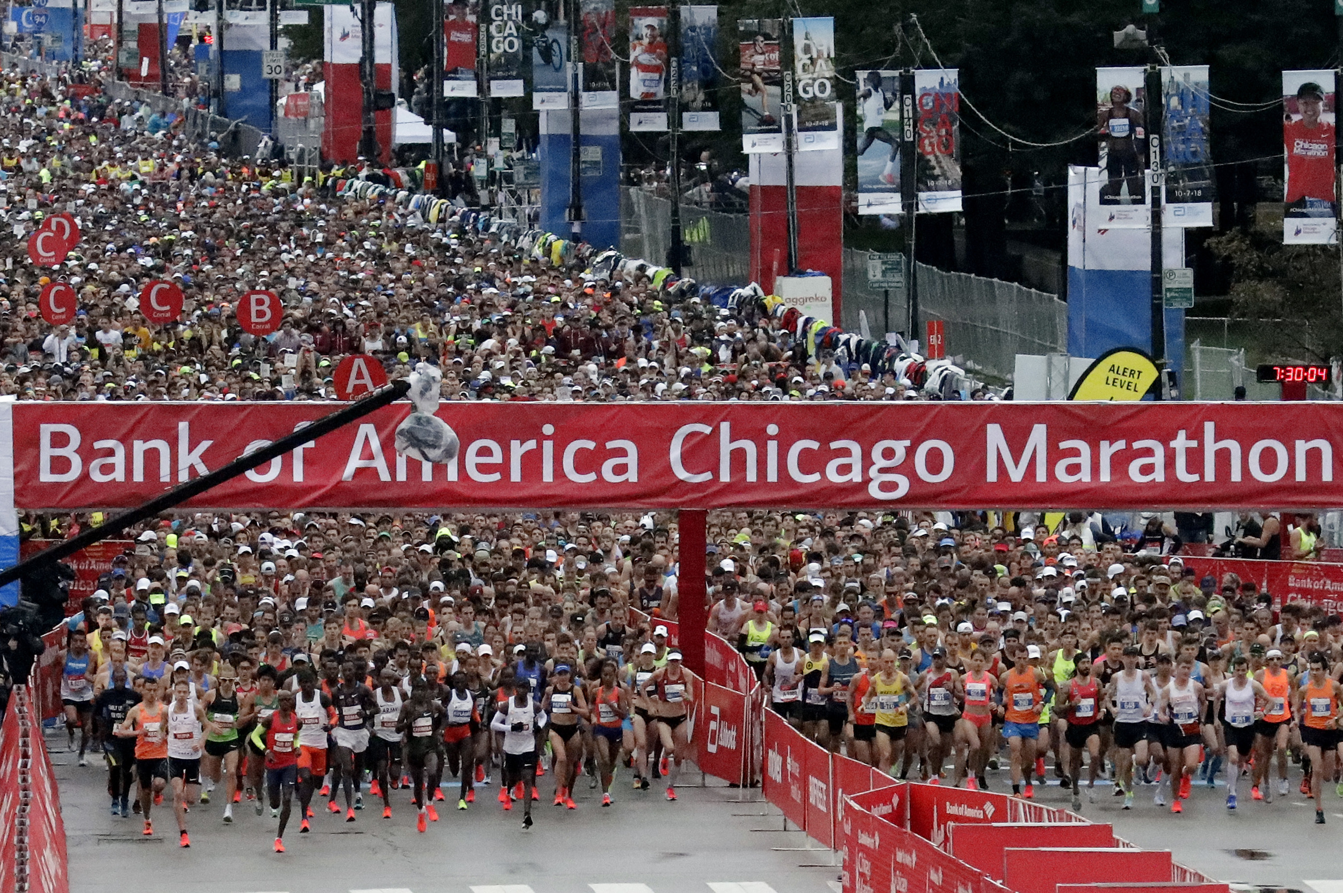 chicago marathon 2019: route, course map, times, road