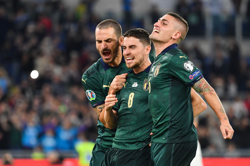Italy Secure Euro 2020 Qualification, Top Spot in Group J with Win vs. Greece