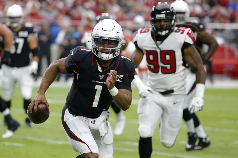 Kyler Murray's 3 TDs Lead Cardinals to Win vs. Falcons After Missed Extra Point