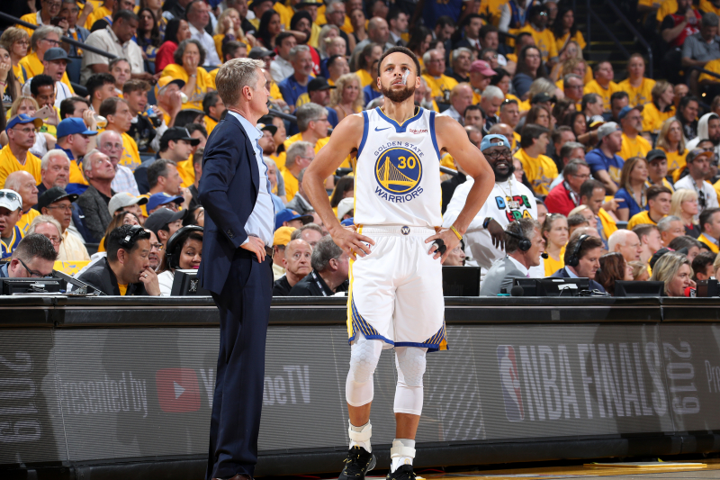 Warriors' Steve Kerr: Stephen Curry Is 'At His Peak Physically, Mentally'