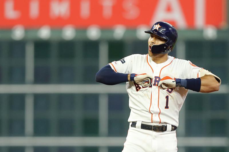Carlos Correa Hits Walk-off Homer as Astros Beat Aaron Judge, Yankees in Game 2