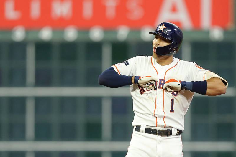 Carlos Correa Hits Walk Off Homer As Astros Beat Aaron Judge
