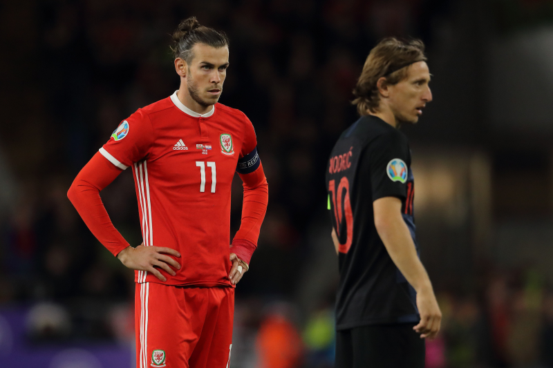 Gareth Bale, Luka Modric Injured in Wales vs. Croatia Euro 2020 Qualifier