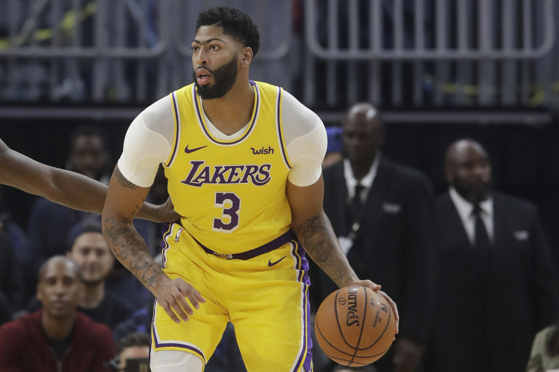Lakers' Anthony Davis Day-to-Day After MRI Results on Thumb Injury Reveal Sprain