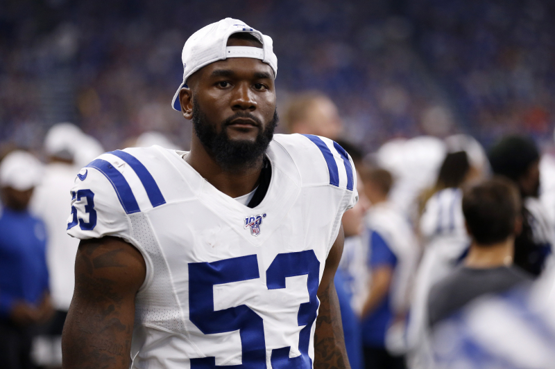 Colts' Darius Leonard Details Recovery from Week 2 Concussion