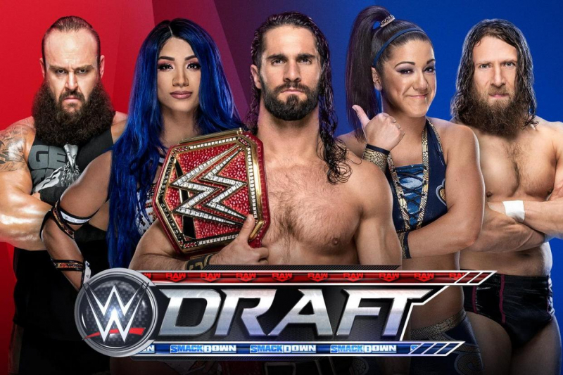 WWE Draft 2019 Results: Full Raw and SmackDown Rosters After Shake-Up
