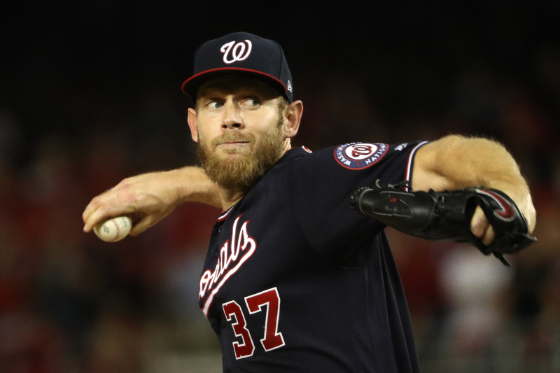 Stephen Strasburg Strikes out 12 as Nationals Crush Cardinals; Up 3-0 in NLCS
