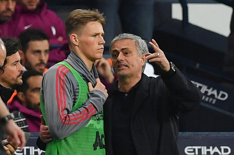 Scott McTominay Says He Still Speaks to 'Very Special' Jose Mourinho After Games