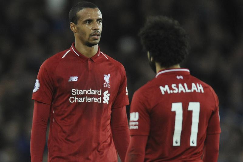Mo Salah, Joel Matip Train Ahead of Manchester United vs. Liverpool
