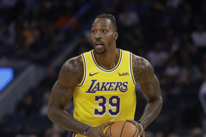 Dwight Howard Says He's 'Very Thankful' to Be Back with Lakers After Prior Drama