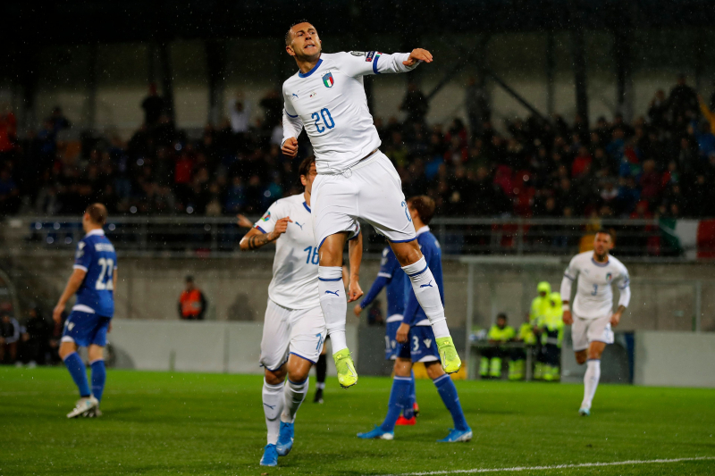 Italy Crush Liechtenstein in Euro 2020 Qualifier After 2nd-Half Scoring Spree