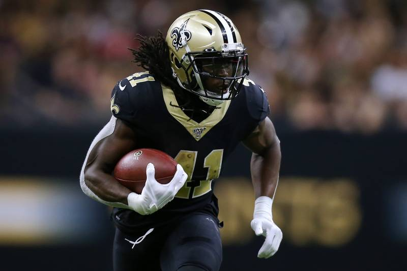 Fantasy Alert: Alvin Kamara Will Be Limited at Practice with High ...