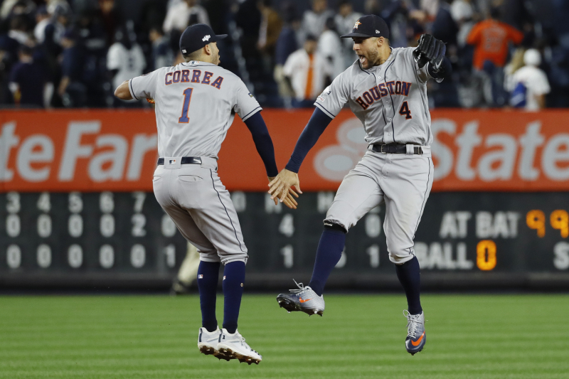 Astros in Control of ALCS After Steamrolling Yankees in Wire-to-Wire Game 3 Win