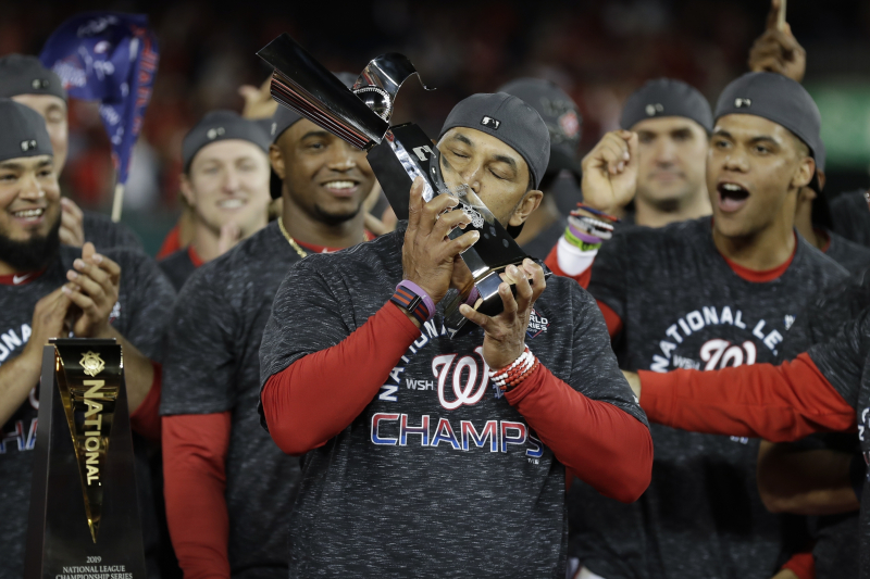 Nationals Prove More Than Ready for 1st World Series with Sweep of Cardinals