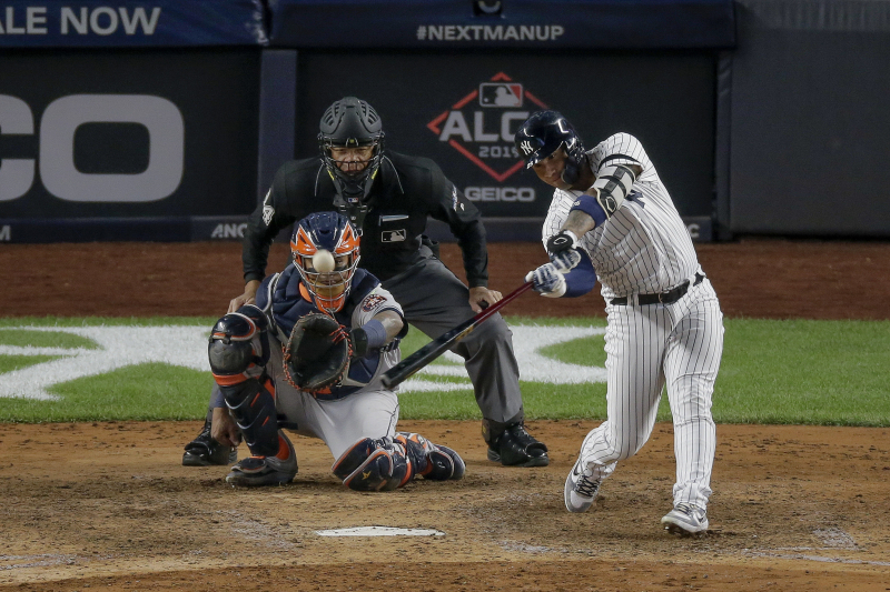 Yankees vs. Astros ALCS Game 4 Postponed Due to Weather; Will Be Played Thursday
