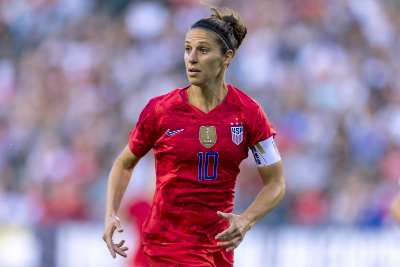 Carli Lloyd Sheds Light on Podcast Interview, Comments About 2019 World Cup
