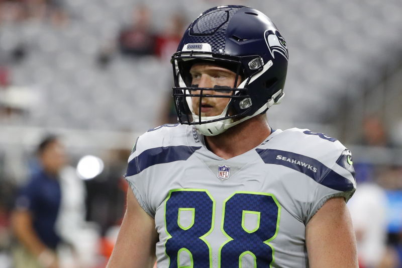 Report: Seahawks' Will Dissly to Have Season-Ending Surgery on Achilles Injury