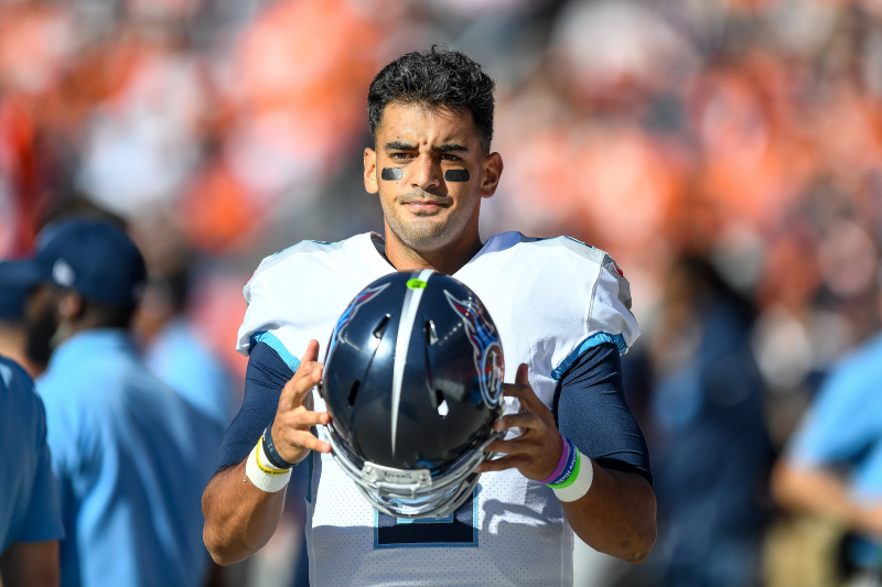 Titans' Marcus Mariota on Benching: 'This Isn't Going to End My Career'