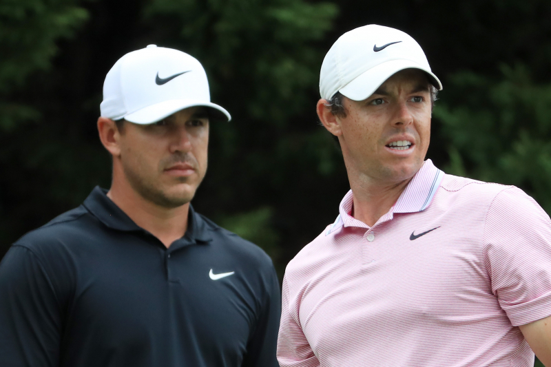 Brooks Koepka Shades Rory McIlroy: He Hasn't Won a Major Since I've Been on Tour