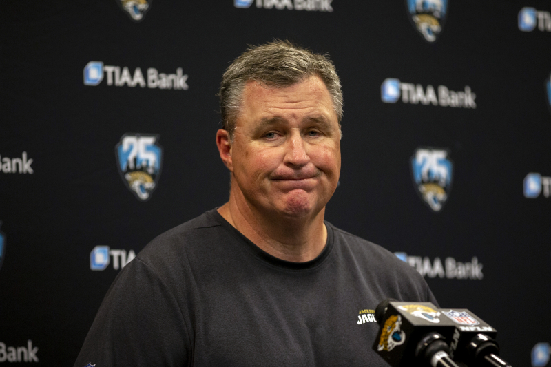 Jaguars' Doug Marrone Says Explaining Jalen Ramsey Trade 'Not My Job'