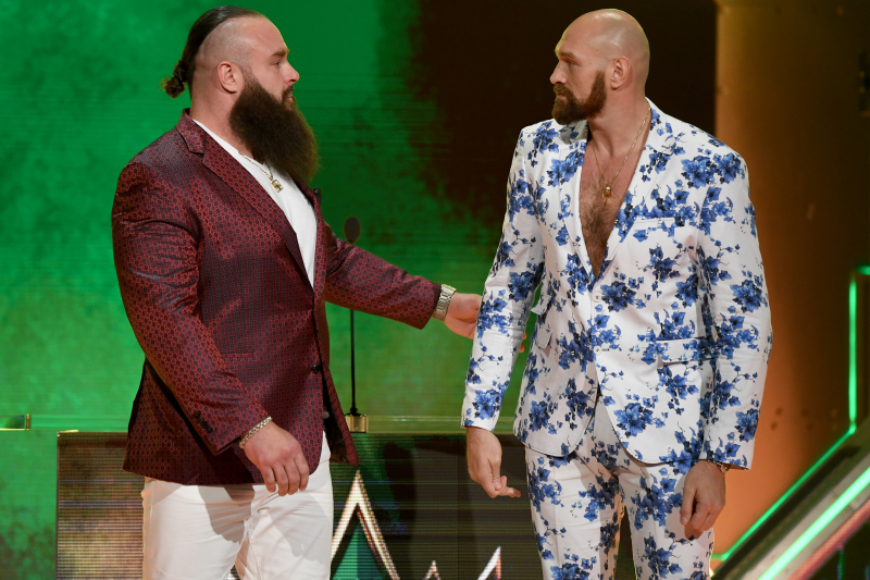 Tyson Fury, Triple H Talk WWE Crown Jewel, Braun Strowman, XFL's Return