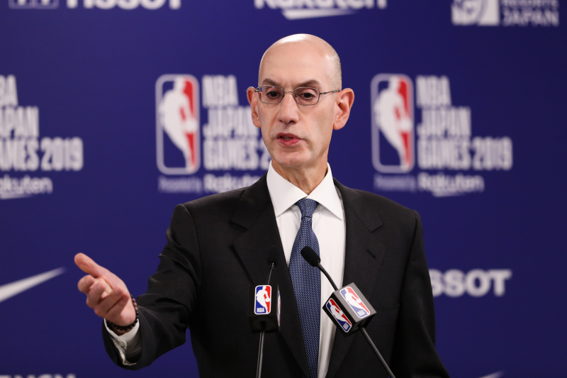 Adam Silver Rejected China's Request to Fire Rockets' Daryl Morey: 'No Chance'