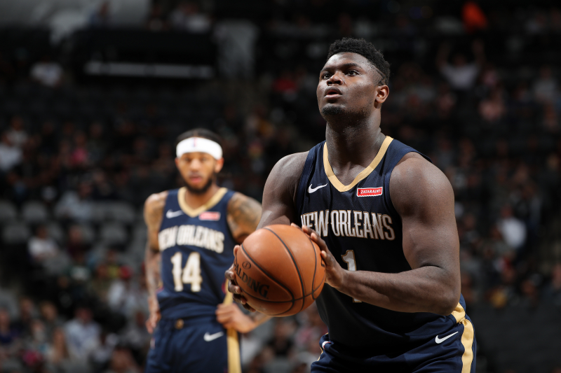 Report: Pelicans' Zion Williamson to Miss 'Period of Weeks' with Knee Injury