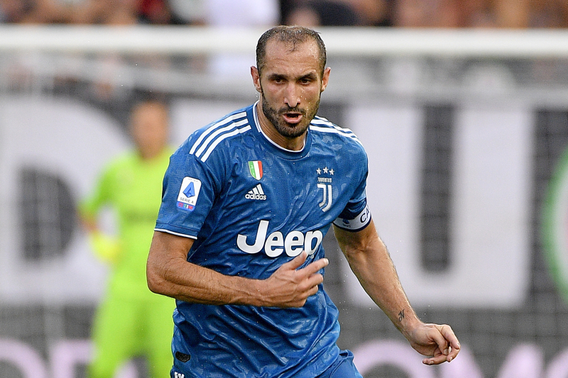 Giorgio Chiellini Will Be Back for Juventus Before End of Season, Says Agent