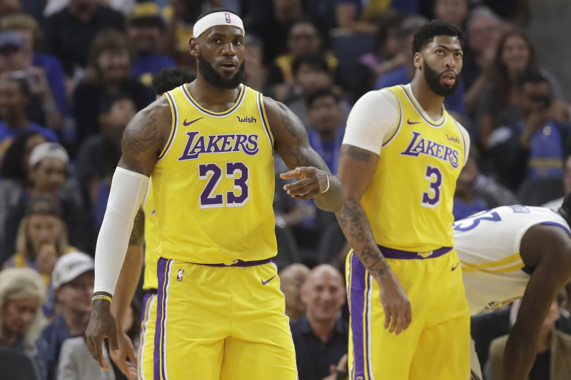Lakers News: LeBron James, Anthony Davis, More Key Players Rested vs. Warriors
