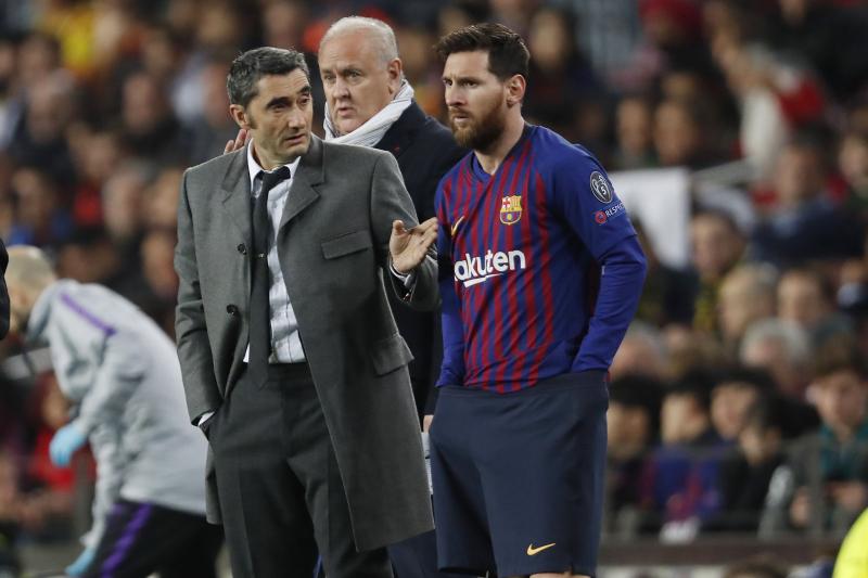 Ernesto Valverde Warns Lionel Messi 'Has to Go Slowly' in Bid for Best Form