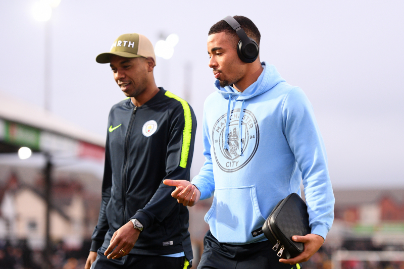 Gabriel Jesus Talks Manchester City Defensive Issues, Fernandinho, John Stones