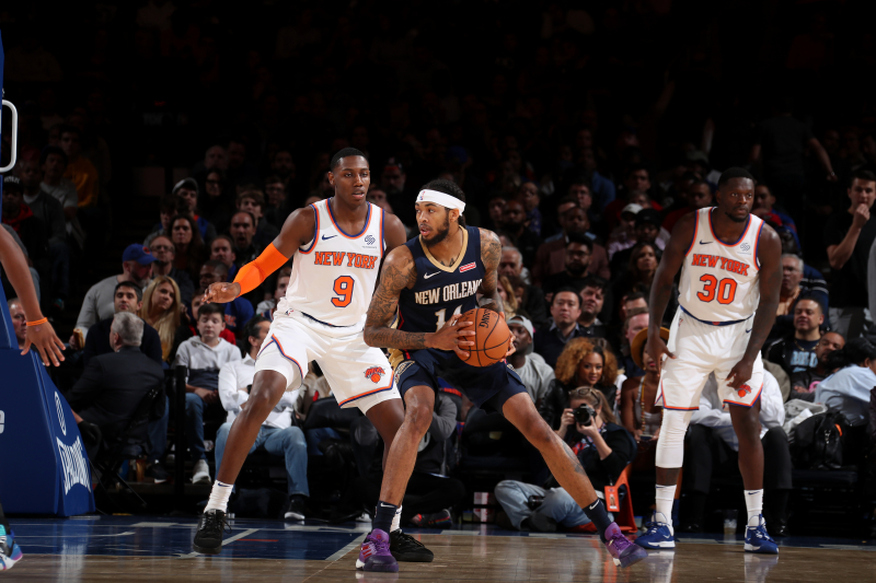 Lonzo Ball, Pelicans Hold Off RJ Barrett, Knicks for Win in Final Preseason Game