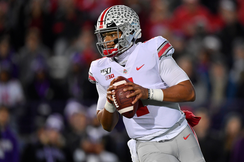 Ohio State's Chase Young: Justin Fields Is Best QB in Nation After Blowout Win