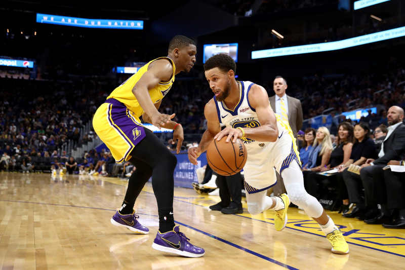 Stephen Curry, Warriors Beat Lakers in Preseason as LeBron, Anthony Davis Rest