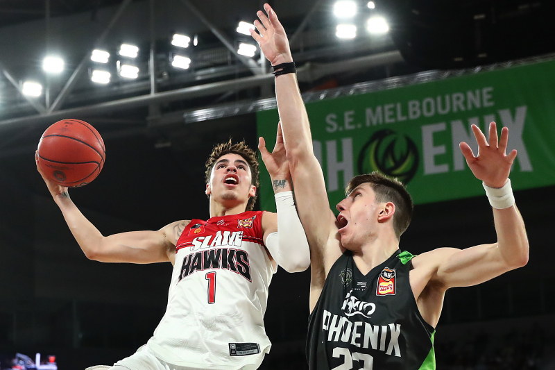 LaMelo Ball Flashes Skills in Illawarra Hawks' Loss to SEM Phoenix