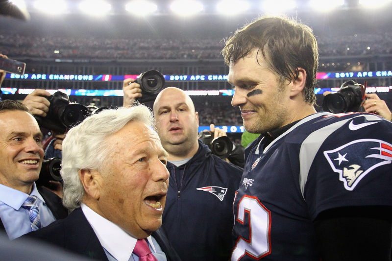 Tom Brady Dismisses Talk 'Living with Yourself' Video Was Dig at Robert Kraft