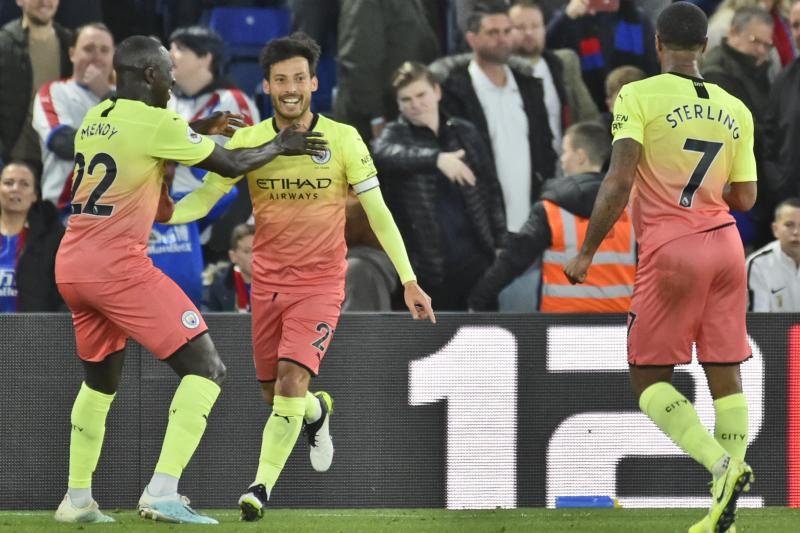 David Silva, Gabriel Jesus Score in Manchester City's EPL Win vs. Crystal Palace