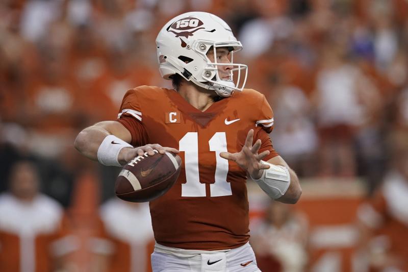 Sam Ehlinger, No. 15 Texas Avoid Stunning Kansas Upset with Last-Second FG