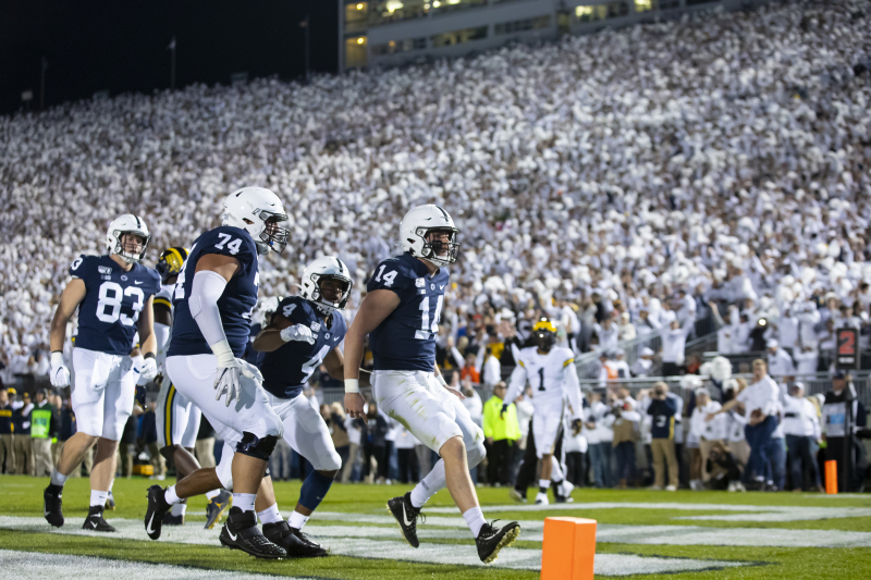 Penn State Firmly in College Football Playoff Mix with Marquee Win vs. Michigan