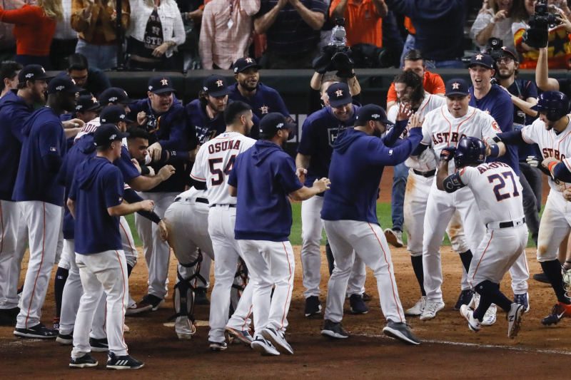 Astros Advance to World Series on Jose Altuve's Walk-off ALCS HR vs. Yankees