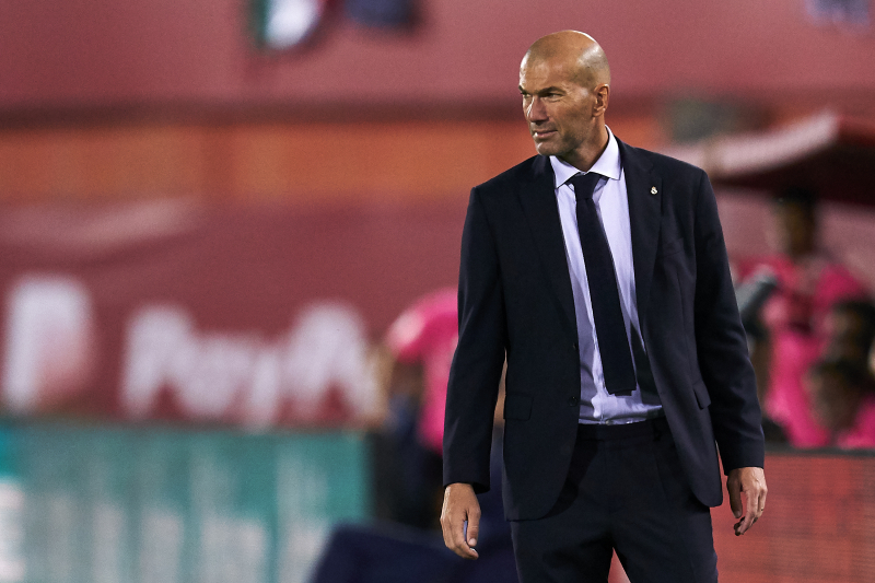 Zinedine Zidane Says He's Not 'Worried' After Real Madrid Loss to Mallorca