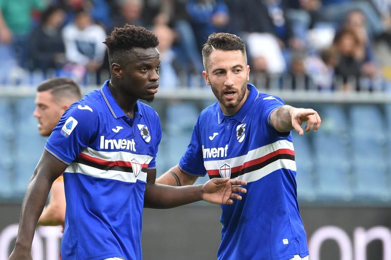 Roma Issue Apology After Fans Racially Abuse Sampdoria's Ronaldo Vieira