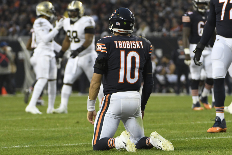 Mitchell Trubisky Is Holding Back the Bears, and Chicago Needs to Move on