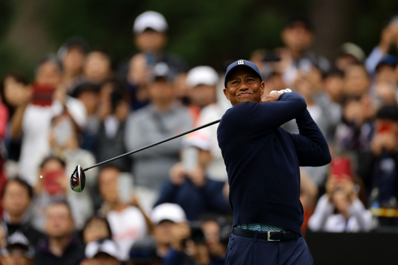 Tiger Woods Ties Second Behind Jason Day at the Challenge: Japan Skins 2019