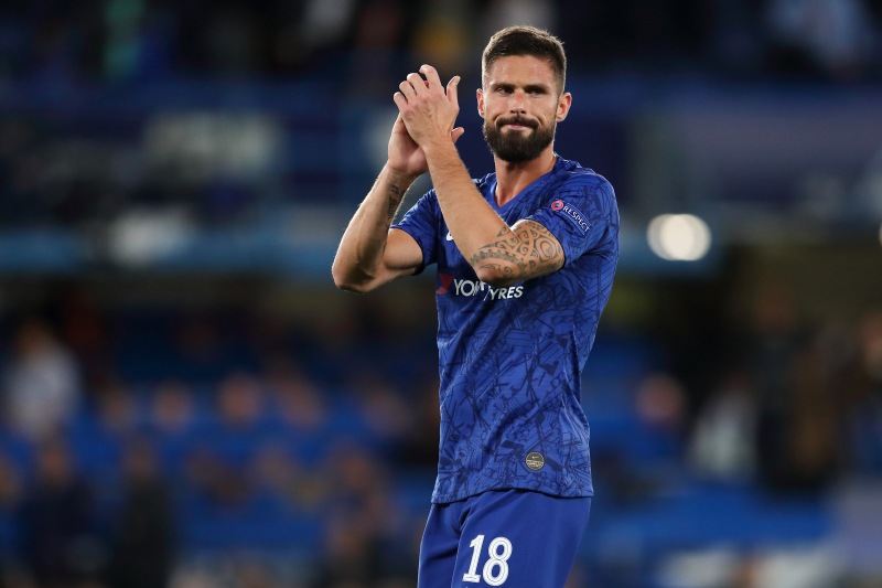 Frank Lampard Talks Olivier Giroud's Minutes, Wants Him to Stay at Chelsea