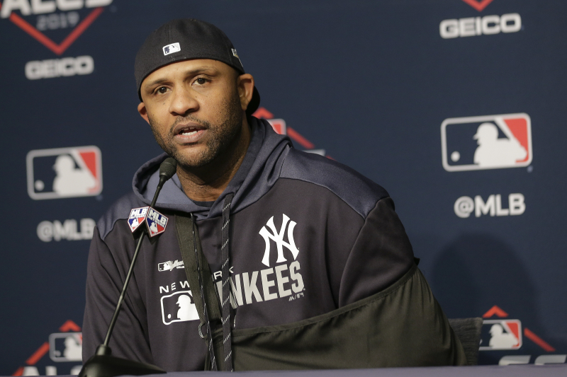 Yankees' CC Sabathia Announces MLB Retirement in Emotional Post