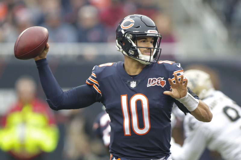 Bears Fan Starts GoFundMe to Buy Out Mitch Trubisky's Contract After Saints Loss