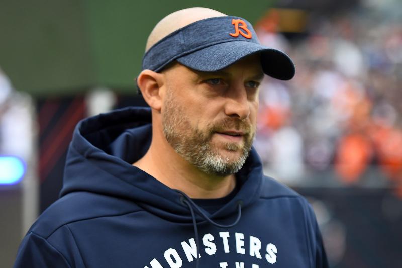 Matt Nagy Says Bears Need to Run More on Offense: 'I'm Not an Idiot'