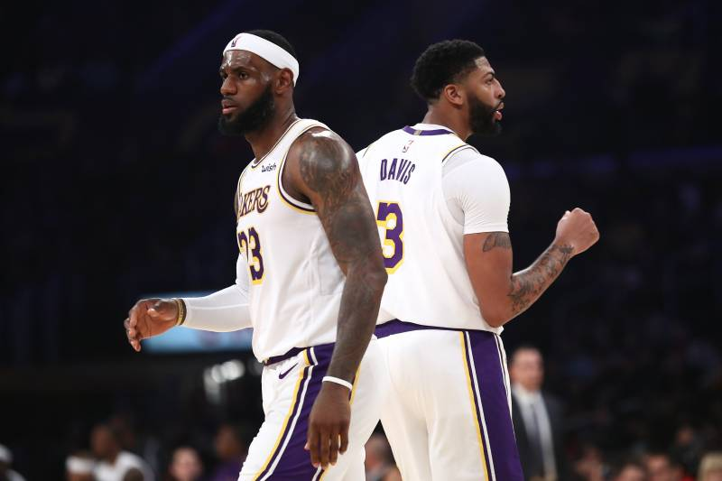 Lakers News Official Heights For Lebron James Anthony