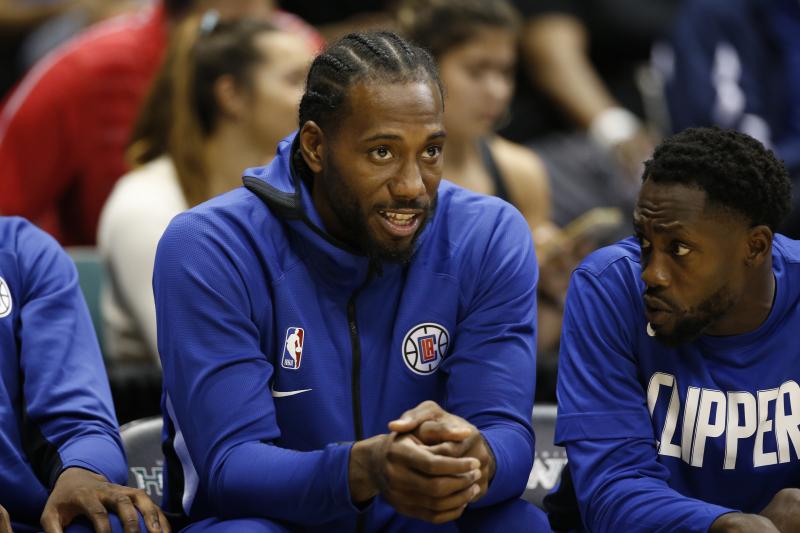 Kawhi, Clippers Begin New Season with NBA's Championship Blueprint